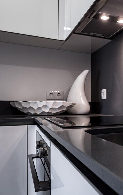 Cozinha em Termolaminado Polyrey Branco
